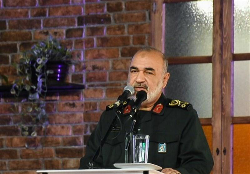 گفتگوی سرلشکر سلامی با سران حماس و جهاد اسلامی: تا فروپاشی اسرائیل همراه ملت فلسطین هستیم