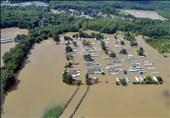 """مرگ 7 نفر بر اثر طوفان در ایالت """"تنسی"""" آمریکا +تصاویر"""