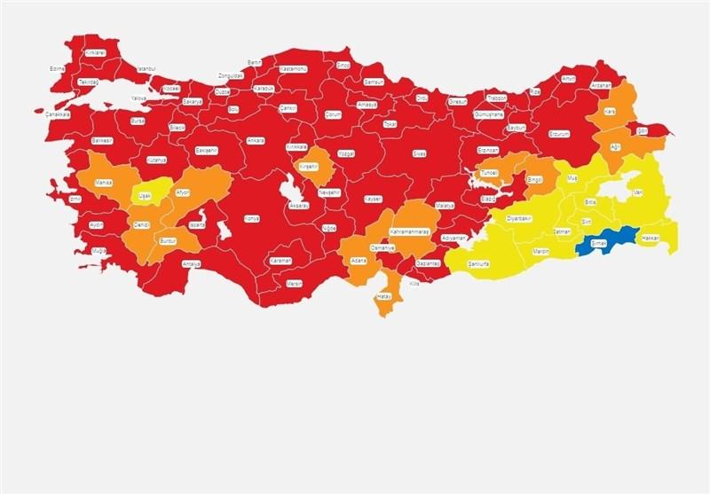 ترکیه در آستانه پیک کرونا- اخبار ترکیه و اوراسیا - اخبار بین الملل تسنیم | Tasnim