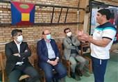 بازدید علینژاد از اردوی تیم بوکس جوانان ایران