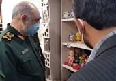 فرمانده کل سپاه پاسداران از قرارگاه اقتصاد مقاومتی سپاه الغدیر یزد بازدید کرد + فیلم