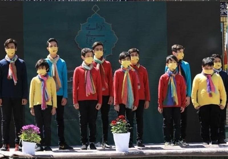 جشنواره سرود آوای بی نشانها برگزار شد