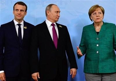 گفتوگوی پوتین، مرکل و ماکرون درباره اوکراین، ایران و سوریه