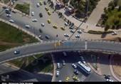 ترافیک سنگین در محور کرج چالوس/ترافیک نیمه سنگین در آزادراه تهران کرج