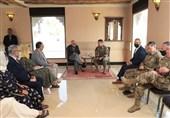 روند صلح و اوضاع امنیتی محور گفتوگوی ژنرال آمریکایی با تیم مذاکره افغانستان
