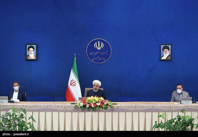 فیلم| چت لو رفته روحانی با کابینهاش درباره کرونا!