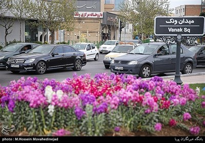 طهران خلال عید النوروز