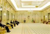 عربستان|استقبال «بنسلمان» از «الکاظمی» در فرودگاه+تصاویر
