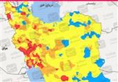 جدیدترین رنگ بندی کرونایی ایران/ 2 هفته آینده شاهد افزایش آمار ابتلا هستیم / پیک چهارم همهگیری در برخی مناطق آغاز شده است + نقشه و جدول