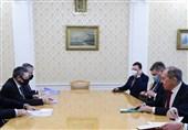 دیدار لاوروف با مقامات آذربایجان و ارمنستان