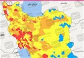 آخرین اخبار کرونا در ایران| کدام مشاغل در شهرهای قرمز و نارنجی کرونایی تعطیل است؟/ سرعت همهگیری در بیشتر شهرستانها با شیب تند صعودی شده + نقشه و نمودار
