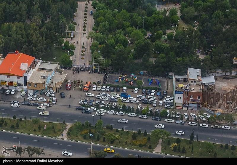 تصاویر هوایی روز طبیعت - قم