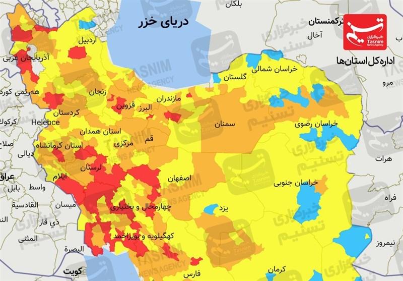 آخرین اخبار کرونا در ایران| موج چهارم کرونا در تهران آغاز شد/ روزهای سخت کرونایی در راه است + نقشه و نمودار