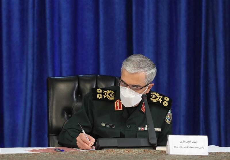 پیام تسلیت سرلشکر باقری به مناسبت درگذشت سردار حجازی