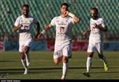 لیگ برتر فوتبال| شکست یک نیمهای پدیده مقابل ذوبآهن