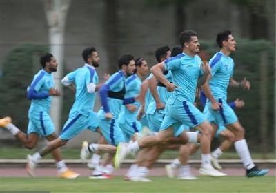 گزارش تمرین استقلال| حلقه اتحاد مجیدی و بازیکنان و گل زیبای قایدی + عکس