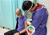 تزریق واکسن کووید 19 به ملیپوشان پاراتکواندو