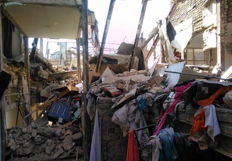 وقوع انفجار و تخریب ساختمان در محله جوانمرد قصاب/ 6 مصدوم تا این لحظه + تصاویر