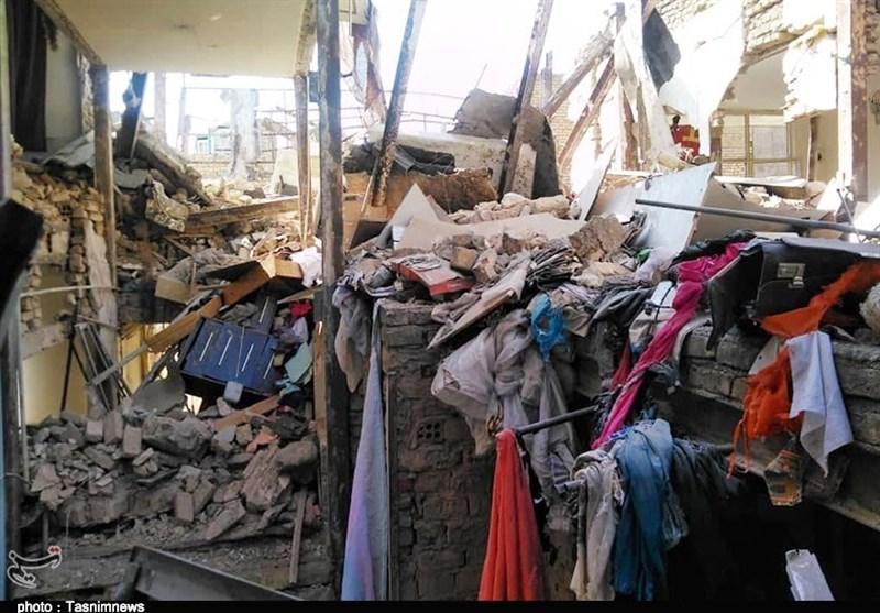 نشت گاز منجر به انفجار منزل مسکونی در محله جوانمرد قصاب شهرری شد