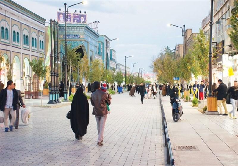 اجرای فاز دوم پیاده راه ارم در سال 1400 در قم/ خیابان شهیدان برقعی بهزودی بازگشایی میشود