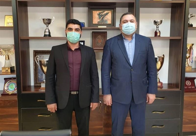 حضور رئیس کمیته تربیت بدنی و ورزش مجلس در فدراسیون کاراته