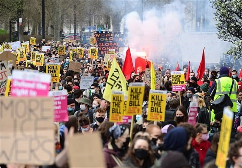 Six People Charged over London's Kill the Bill Protest outside Parliament (+Video)