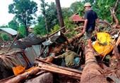 کشتههای سیل و رانش زمین در اندونزی از 150 نفر عبور کرد + تصاویر