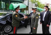 No Limit to Export of Iranian Arms, Defense Minister Tells Tajik Counterpart