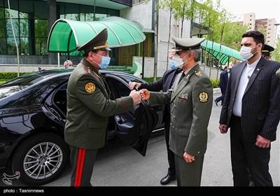 دیدار وزرای دفاع ایران و تاجیکستان