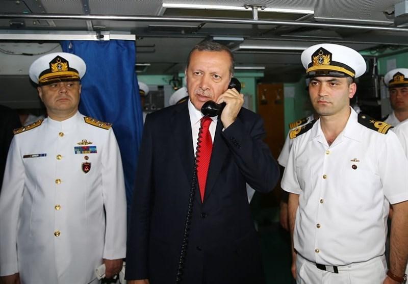 بیانیه دریاداران ترکیه و ترس اردوغان از ریسمان سیاه و سفید
