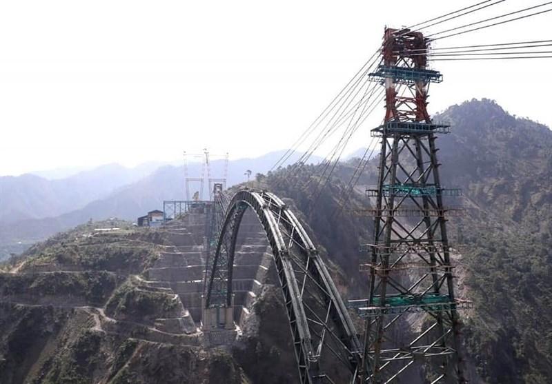 ساخت بلندترین پل ریلی جهان در هند تا پایان 2021