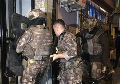 عملیات نیروهای امنیتی ترکیه علیه عناصر داعش و القاعده در استانبول