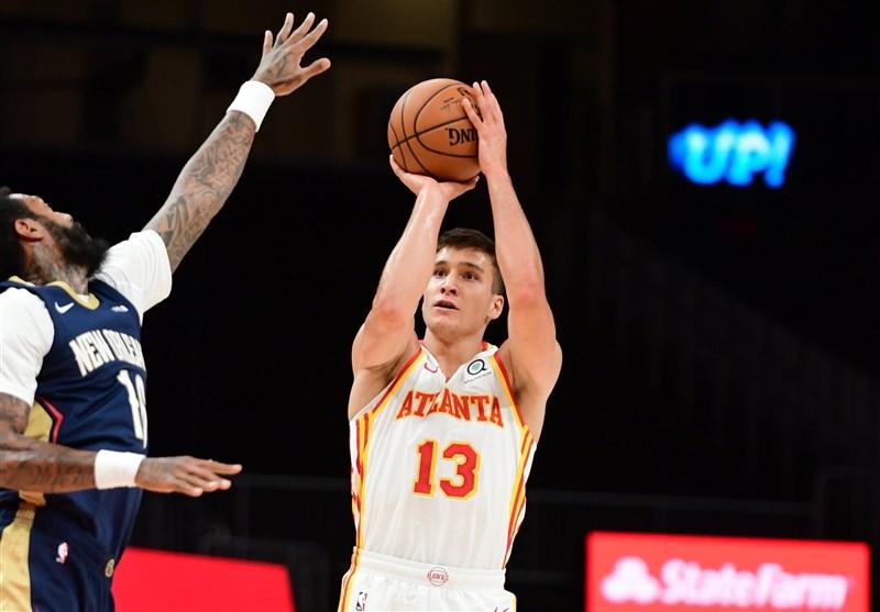رکورد جدید آتلانتا در NBA