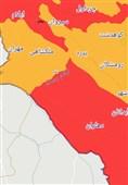 بهار قرمز کرونایی ایلام همچنان قربانی میگیرد + آمار و نقشه
