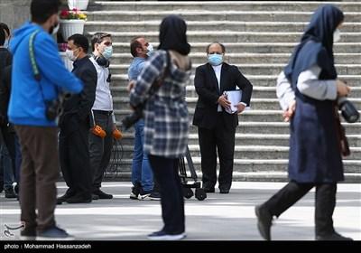 محمدشریعتمداری وزیر تعاون، کار و رفاه اجتماعی در حاشیه جلسه هیئت دولت