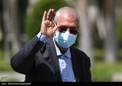 علی ربیعی سخنگوی دولت در حاشیه جلسه هیئت دولت