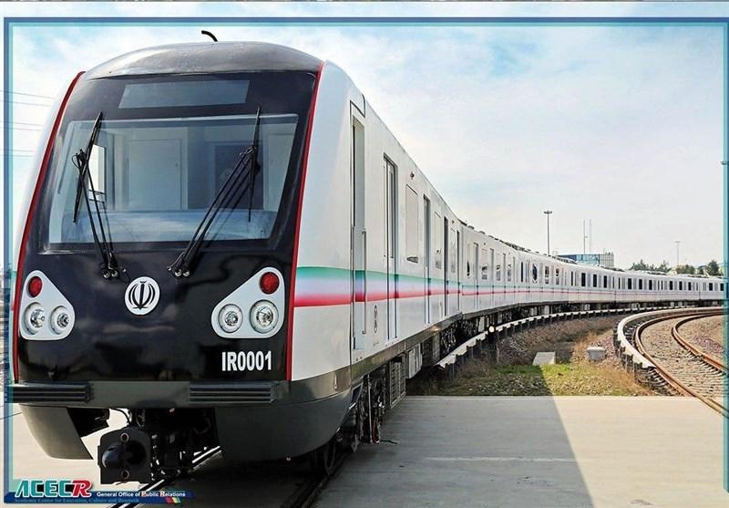 نخستین قطار مترو ملی فردا رونمایی می شود