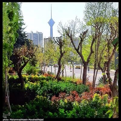 تهران ؛ بهار 1400