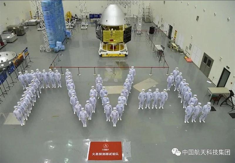 تصاویر جدید و خیرهکننده کاوشگر چینی از سیاره مریخ