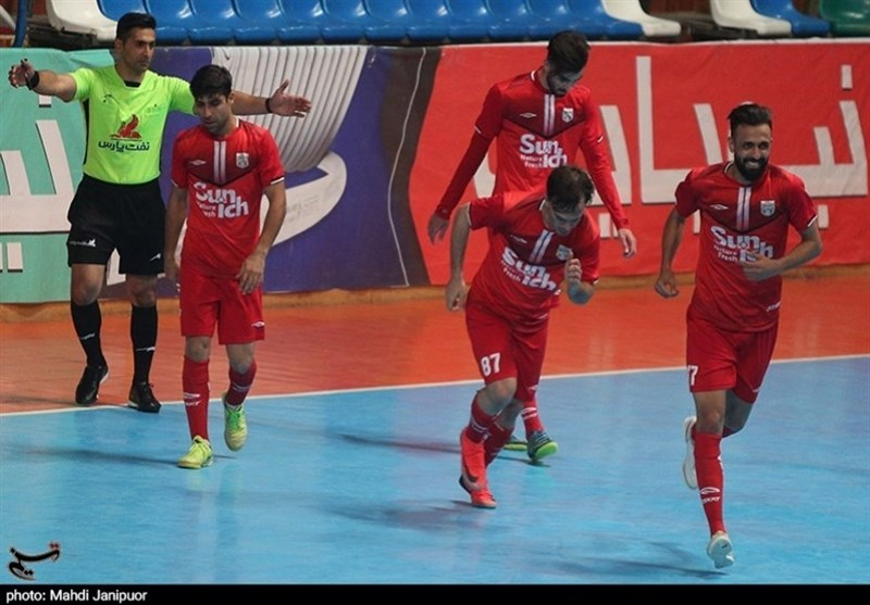 لیگ برتر فوتسال | صعود سنایچ به صدر جدول با تداوم رکورد و جشنواره گل گیتیپسند