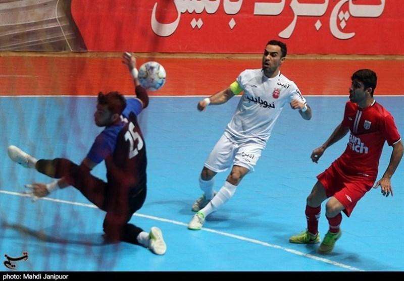 روایت تصویری تسنیم از دیدار تیمهای گیتی پسند اصفهان و سنایچ ساوه