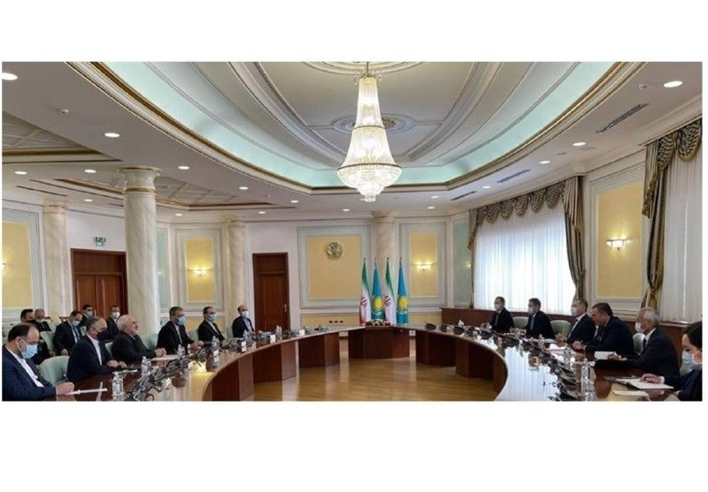 Zarif: Iran, Kazakhstan Share Objectives on Nuclear Disarmament