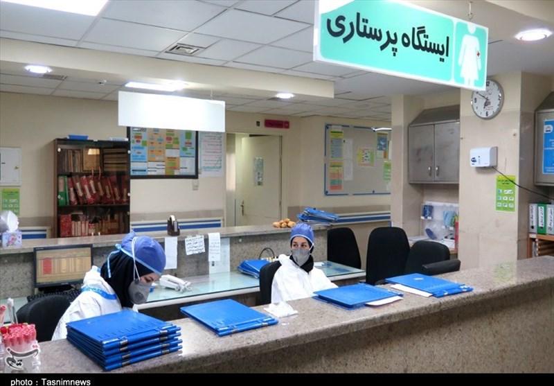 روزهای سخت کرونایی کادر درمان در استان مرکزی به روایت تصویر