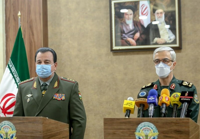 Iran's Top General: Foundation Laid for Growing Military Ties with Tajikistan