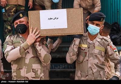 چهار پیکر تفحص شده متعلق به کشور عراق به این دولت تحویل داده شد