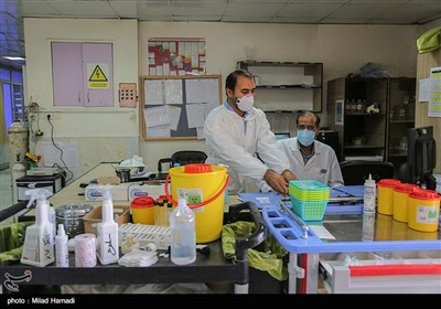 وضعیت بیمارستان سینا در شرایط کرونایی - اهواز