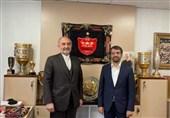حضور مدیرکل تشریفات وزارت امور خارجه در دفتر باشگاه پرسپولیس