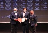 اهدای بالاترین مدال افتخار فدراسیون جهانی بدنسازی به رئیس فدراسیون ایران