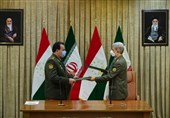 ایران وطاجیکستان توقعان على مذکرة للتعاون الدفاعی بینهما
