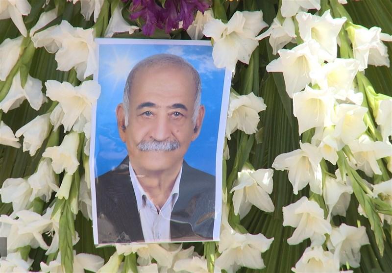 درگذشت طراح تانک ذوالفقار / پیکر امیر سرتیپ مصطفی ریاحی در قطعه ایثارگران سامان آرام گرفت